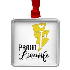 Proud Linewife Ornament