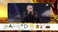 canción el himno de la alegría de Miguel Ríos adaptada con pictogramas.