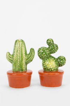 Magical Thinking Cactus Salt And Pepper Shaker - Set Of 2