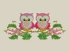 download free 2 owl design machine embroidery ~ download free designs embroidery