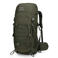 Mardingtop 50 Liter Internal Frame Backpack Tactical Backpack Military  Backpack Molle Bag with Rain Cover for Hunting Shooting Camping Hiking  Trekking ... a5f10919cacae