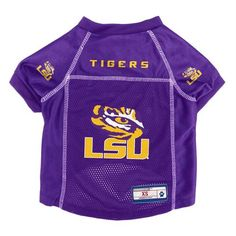 LSUTigers Mesh  Dog Jersey just  17.99 with free shipping  petstuff   petproducts Ohio df47f1d60
