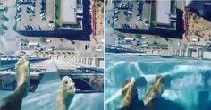 Schwindelerregend! Dieser Pool hat einen Glasboden #News #Wohnen