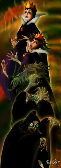 SNOW WHITE - The Potion (Transformation) by ~DarrilAsylum on deviantART