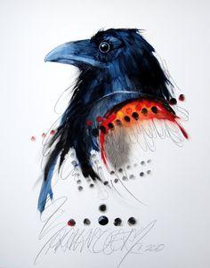 Paint Line, Artist Bio, Creative Advertising, Selling Art, Fine Art Gallery, Bird Art, Spirit Animal, Cool Art, Vibrant Colors