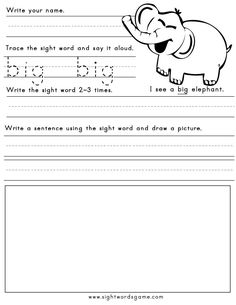 Worksheets, create Sight  Sight Worksheets   Word Word Sight word Word Pinterest worksheets sight  on