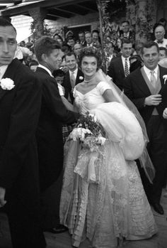 Jacqueline Kennedy - JFK and Jackie's Wedding, 1953