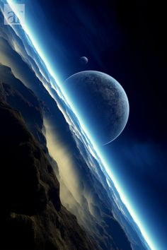 ~~Horizons II • surreal moon landscape by emailandthings~~