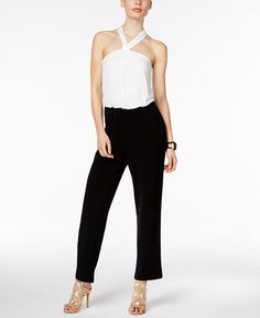 Only Sleeveless Jumpsuit Women White Buy Cheap Low Price Outlet Best Store To Get OJRKe3