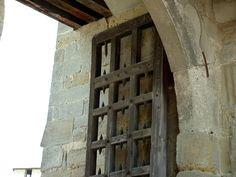 Porte du château comtal. Carcassonne. Aude. Languedoc-Roussillon