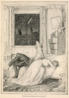 """"""" Francis Donkin Bedford ~ The Birds Were Flown ~ Peter and Wendy by J. Barrie ~ 1911 ~ via More F D Bedford at Art of Narrative. Peter Pan Book, Peter Pan Art, Illustrations, Illustration Art, J M Barrie, Peter And Wendy, Christina Rossetti, Vintage Sheet Music, Black And White Illustration"""