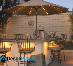 modern outdoor lighting idea