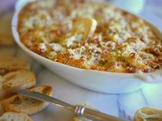 Hot Italian Dip perfect party appetizer from Noble Pig