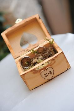 Personalized Bride & Groom Intials  Wedding Ring by hanscreations, $24.99