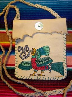 Sale The Resplendent QUETZAL BIRD Mayan by JaguarGoddessDesigns, $35.00