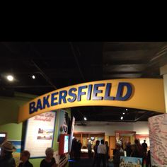 Entrance to the Bakersfield Sound exhibit at the Country Music Hall of Fame.