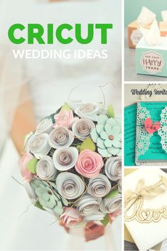 Cricut / Cricut Projects / DIY Wedding / Cricut Wedding Ideas / DIY Wedding IDeas via Clarks Condensed I All Things Family – Pregnancy, Easy Recipes, DIY, Travel, and More! Source by clarkscondensed Diy Wedding Projects, Wedding Crafts, Diy Wedding Decorations, Diy Projects, Wedding Ideas, Project Ideas, Wedding Stuff, Circuit Projects, Crafts For Teens