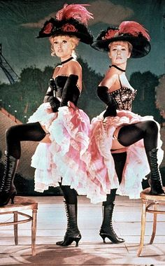 e87d727ed Brigitte Bardot and Jeanne Moreau as Maria I and Maria II in Viva Maria!  Brigitte