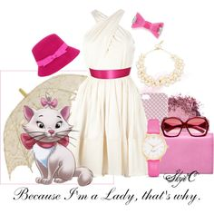"""Marie - Disney's Aristocats"" by rubytyra on Polyvore"