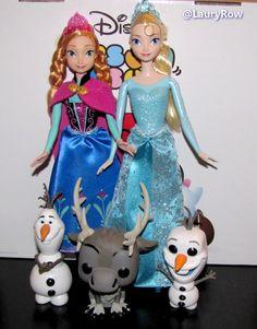 Anna (eu le 30/04/14) / Sven que je me suis offert et ELSA + les 2 olaf eu à Noel par maman (24/12/15) @LauryRow  https://www.facebook.com/pages/Disneycollecbell/603653689716325
