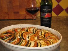 Aubergine Mozzarella, Dinner Today, Diner Recipes, Good Food, Yummy Food, Oven Dishes, Vegan, Ratatouille, Superfood