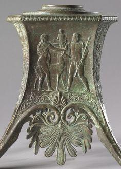 Tripod Base, 100-1 BC Italy, Roman, 1st Century BC bronze