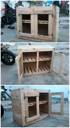 Use Pallet Wood Projects to Create Unique Home Decor Items – Hobby Is My Life Diy Pallet Furniture, Diy Pallet Projects, Wood Projects, Pallet Ideas, Woodworking Images, Beginner Woodworking Projects, Recycled Pallets, Wooden Pallets, Pallet Wood