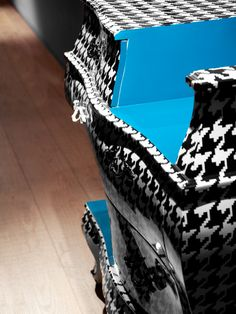 Cutting edge - Three drawers cutted chest by BBMDS , via Behance