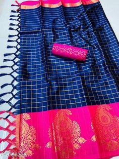 Sarees  Siya Attractive Cotton silk  Sarees  Saree Fabric: Cotton Silk Blouse: Separate Blouse Piece Blouse Fabric: Silk Multipack: Single Sizes:  Free Size (Saree Length Size: 5.5 m Blouse Length Size: 0.8 m) Country of Origin: India Sizes Available: Free Size   Catalog Rating: ★4 (420)  Catalog Name: Abhisarika Petite Sarees CatalogID_1084456 C74-SC1004 Code: 095-6796328-4161