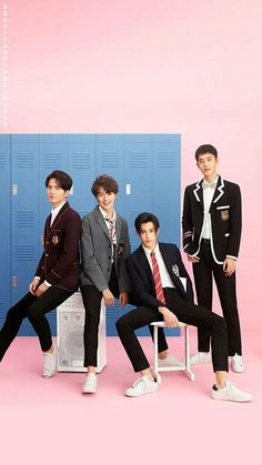 Acho que tô apaixonada Meteor Garden Cast, Meteor Garden 2018, Asian Actors, Korean Actors, F4 Boys Over Flowers, A Love So Beautiful, Weightlifting Fairy, Chinese Boy, Chinese China