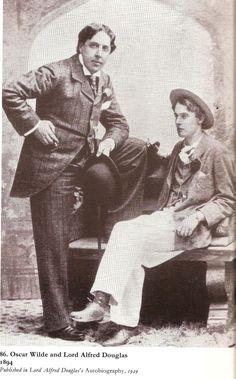 Oscar Wilde & Lord Alfred Douglas 1894
