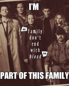Exactly. I have family that isn't blood but they're still family.