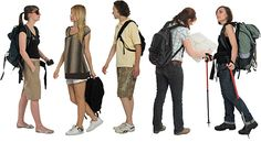 DOSCH DESIGN - DOSCH 2D Viz-Images: People - Tourists