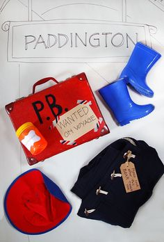 What you need for a Paddington bear costume.