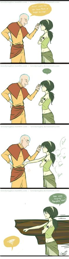 Rock beats Airbender by LovelyRugby on deviantART