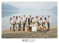 Vintage Donner Lake Wedding at West End Beach