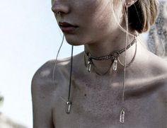 Alerta de Moda: Gargantilha Choker ou Tattoo Chocker | I Love Fashion