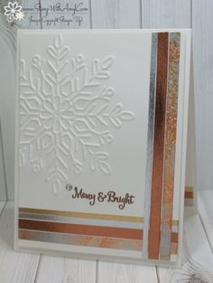 Stampin' Up! Season to Sparkle CAS Holiday Card – Stamp With Amy K