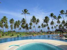 A piscina do Iberostar Premium Gold Praia do Forte, Bahia, Brasil. Por Marcio Nel Cimatti do ajanelalaranja.com