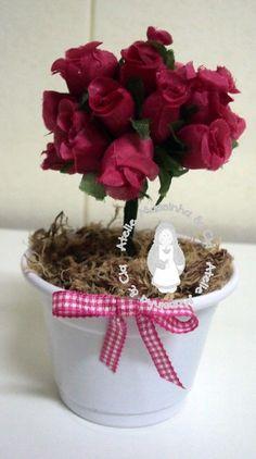 Enfeite de Mesa - Vasinho Flor