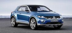 Neue VW Studie: T-ROC gibt einen Ausblick auf den neuen Tiguan
