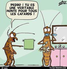 Akenini.com - Images drôles animaux - Funny cartoons animals - © Satz