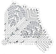 Photo - Her Crochet Thread Crochet, Crochet Stitches, Knit Crochet, Crochet Table Runner, Crochet Tablecloth, Crochet Potholders, Crochet Doilies, Doily Patterns, Crochet Patterns