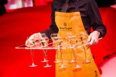 Champagne Tray   Veuve Cliquot   Ferrari Event   Stones Events