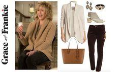 Grace and Frankie wardrobe, Grace & Frankie, Jane Fonda's wardrobe, shop Grace & Frankie, shop the show, Grace & Frankie style