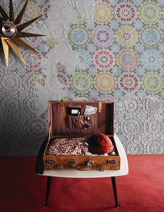 Chalks www.wallanddeco.com #wallpaper, #wallcovering, #cartedaparati
