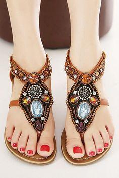 a6a00fefe4f Boho  sandals Boho Sandals