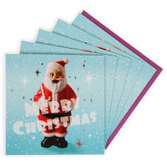 Photographic Santa charity Christmas cards - pack of 8