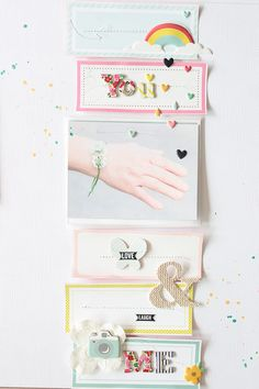 PHOTO + PAPER + STAMP = CRAFTTIME!!!: SCRAPBOOKING
