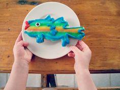 Fish cookie, fish shaped cookie, sugar cookie